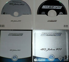 Need For Speed Porsche 40 ans 911 PC Spécial Edition plus Audio CD
