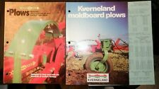 Kverneland Plows Brochures and price sheets 1974-1979 Color-Illustrated Clean