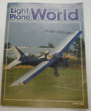 EAA Light Plane World Magazine Shades Of Yesteryear June 1986 FAL 071615R