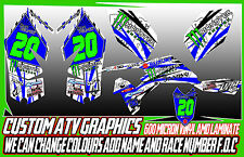 SUZUKI LTZ 400/LTR 450 - ALL YEARS GRAPHICS DECALS ATV QUAD