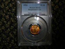 1926 Gold $2.50 Sesquicentennial PCGS 62 Rainbow Toned Gold!! Hard To Find!!