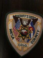 Colorado  Police -   Mesa Sheriff CO   Police Patch