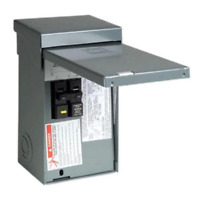 Square D Spa Panel Main Lug Load Center 50 Amp 2-Space 4-Circuit