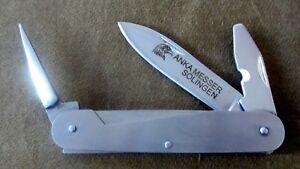 Halbfertiges Anka Messer, Messertools, Segler-Bootmesser  aus Solingen