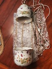 Andrea By Sadek Stawberries And Butterflies Hanging Lamp Planter 9354