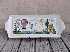 Le Ballon by Villeroy & Boch Large Sandwich Tray in Hot Air Balloon Print Plate
