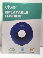 Hemorrhoid Donut Pillow by VIVE Cushion for Piles Pregnancy and Coccyx Pain Seat