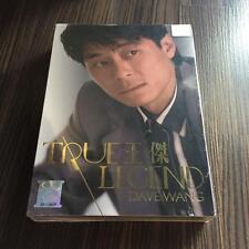 王杰 Dave Wang 王傑 True Legend 6cd 大马版 马来西亚 Malayisa press 绝版