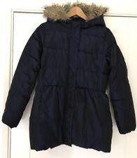 Gap Kids Navy Blue Parka Puffa Coat Size XXL Age 14