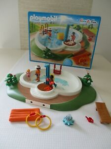 PLAYMOBIL Family Fun - Swimmingpool mit Pump-Dusche - 9422 in OVP