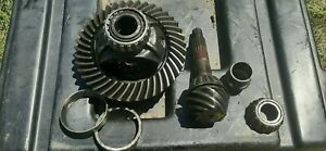 95-02 Isuzu Trooper Rear Axle Carrier 4.55 Open Differential Ring & Pinion