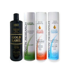 Gold Label Keratin Hair Treatment 240ml LG Kit for Domincan and African Hair