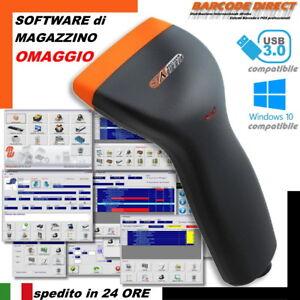 Lettore di codici a barre e Software di Magazzino OMAGGIO