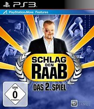 Schlag den Raab 2 Sony PlayStation Ps3 Spiel