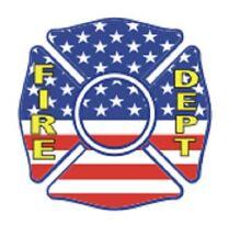 Address Labels - Patriotic - Fire Department