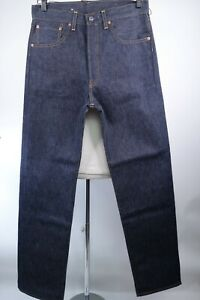 Levis LVC 501 Selvedge Jeans 1955 Straight Fit Men Size 31 x 34 Made in The USA
