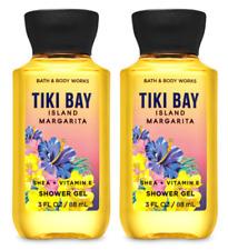 *2 PACK* Bath & Body Works TIKI BAY ISLAND MARGARITA Mini Shower Gel FREE SHIP
