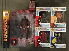 Funko Pop Marvel Select DEADPOOL 6 Figures Bundle All New In Box