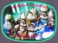 STAR WARS MARIN COUNCIL DISNEY 2010 SCOUT JAMBOREE 533 COMMANDER CODY JSP PATCH
