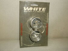 "White Bros 'Porker' End Caps for 2-1/4"" Straight Cut Pipes - $49 NEW!!!"