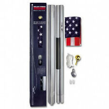 20 FT Residential Flag Pole Flagpole Kit & 3x5 US American Flag By Valley Forge