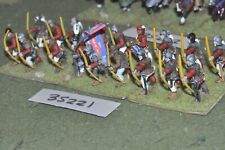 25mm medieval / burgundian - archers (plastic) 18 figures - inf (35221)