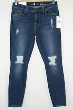 7 for All Mankind Women's Ankle Gwenevere SKINNY 29 Athn Blumst2 Ru8216005