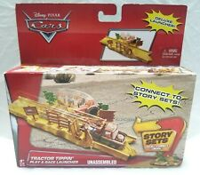 Disney Pixar Cars Tractor Tippin' Play & Race Launcher CDP76   - Free Shipping -