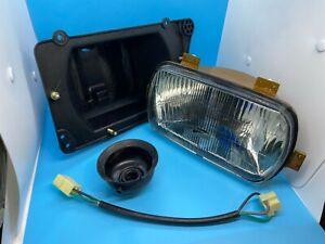 New Genuine OEM SIEM 10400 FIAT 131 Front Headlight Headlamp & Frame LH 4329807