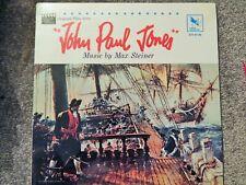 JOHN PAUL JONES (1968 MAX STEINER) MINT SOUNDTRACK VINYL, Varese RS, R STACK