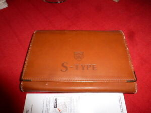 Jaguar S TYPE HAND BOOK PACK AND WALLETS INCOMPLETE