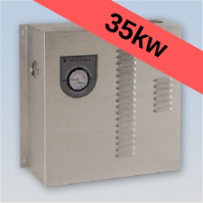 Thermolec 35kw electric hot water boiler radiant floor heating hydronic