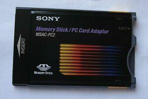 SONY MSAC-PC2 Memory Stick PC Card Adaptor