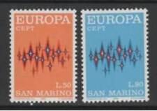 San Marino 1972 Serie Europa  MNH