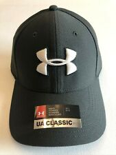 Under Armour New Heathered Blitzing 3.0 Fitted Cap Hat Men's M/L