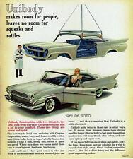 Old Print. 1961 DeSoto Two-Door Hardtop Auto Ad
