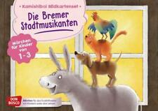 Die Bremer Stadtmusikanten. Kamishibai Bildkartenset. von Brüder Grimm (2019, Cards)