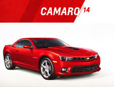 2014 Chevrolet Camaro 32-page Original Car Sales Brochure Catalog - SS ZL-1