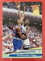 MINT SHAQUILLE O'NEAL 1992-93 Fleer ULTRA ROOKIE RC Card #328 MAGIC LAKERS 1992