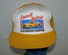 Vintage RARE1982 Darrell Waltrip Champion Racing NASCAR Mesh Snapback Hat Cap