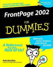 NEW FrontPage 2002 For Dummies by Asha Dornfest