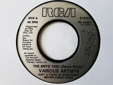 "VARIOUS ARTISTS - THE BRITS 1990 7"" VINYL SINGLE"