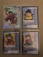 Dragon Ball Z DBZ CCG Gohan Lvl 1-3 LIMITED Saiyan Saga Personality
