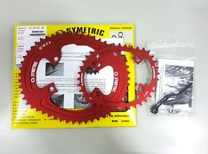 Osymetric BCD110x4 52+38T 9100/9150/8000/8020/8050 Edition Chainring Set Red