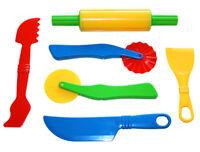 GOWI Backwerkzeug Knetwerzeug Spritzen Knete Kneten Backset Kinderküche