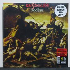 POGUES 'Rum, Sodomy & The Lash'Ltd. Edition RED Vinyl LP NEW/SEALED