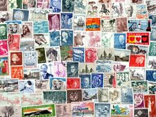 Sweden Large & Commemoratives : 100 Different Stamps Collection