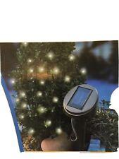 2x LED Solar je 7m  Lichterkette Gartenleuchte Solarleuchte Gartenlichterkette