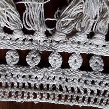 Bande de dentelle au crochet MAIN frange @LACE