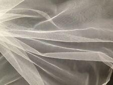 Filtro molto fine tessuto-Nylon Maglia Ceppo-Acqua-Zanzara - 1m x 300 cm-Bianco di seta.